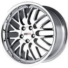 chrome corvette wheels 2 18x10 5 65 offset 5x120 65 cray manta chrome corvette wheels