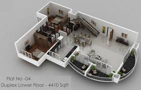 Three Bedroom Apartment Floor Plans by Exellent 3 Bedroom Apartment Floor Plans 3d Like Architecture