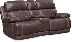 Reclining Loveseats Monte Carlo Dual Power Reclining Sofa Reclining Loveseat And