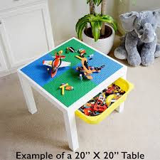 plates that stick to table peel and stick baseplates self adhesive brick building plates