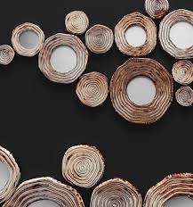 Copper Wall Decor by 3d Circle Cluster Wall Decor Cgtrader