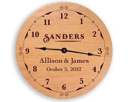 anniversary clock gifts anniversary clock etsy