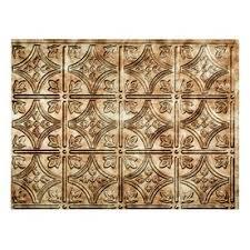 metal kitchen backsplash tiles shop backsplash panels at lowes com