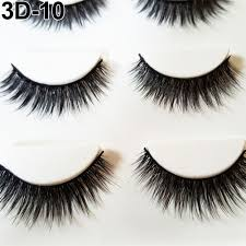 3d extensions 3 pairs thick 3d false eyelashes makeup cross eye lashes