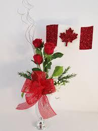 Red Roses Centerpieces Patriotic Usa Americana U0026 Cananda Centerpieces U2013 Designs By Ginny
