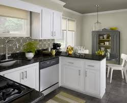 Kitchen Paint Ideas White Cabinets Small Kitchen Color Schemes With White Cabinets Attractive