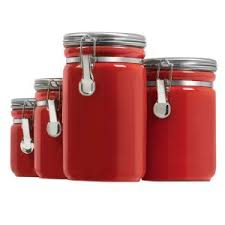 red kitchen canister set red kitchen canister sets images where to buy kitchen of dreams