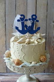 nautical themed wedding cakes anchors away wedding cake topper anchors boat wedding cake topper