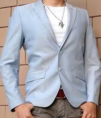 Light Blue Jacket Mens H U0026m Baby Blue Blazer Men U0027s Fashion For Less