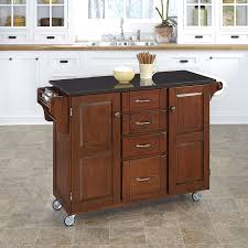 granite top kitchen island crosley furniture cambridge solid black granite top kitchen island
