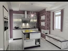 floral wallpaper in kitchens