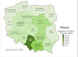 2016 Electoral Map Pre by Poland U0027s Stark Electoral Divide Geocurrents