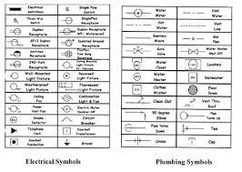 Architectural Drawing Sheet Numbering Standard by Architectural Electrical Symbols For Light Floor Plans