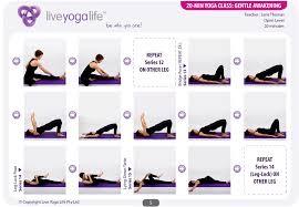 Chair Yoga Class Sequence 20 Minute Yoga Day U2013 Class 2 Gentle Awakening Live Yoga Life