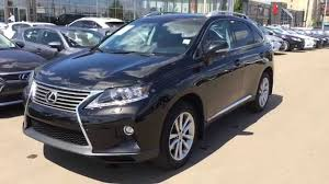 lexus truck 2011 2015 lexus rx 350 awd black on saddle tan touring package review