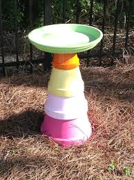 Flower Pot Bird Bath - 19 best flower pots images on pinterest flower pots spray