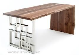 Modern Led Desk L Desk Wood And Metal Desk Beautiful Modern Wooden Desk L Shape