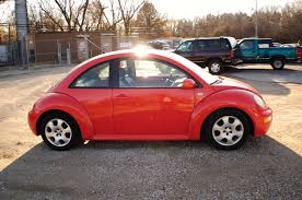 2006 volkswagen beetle orange hatchback coupe sale