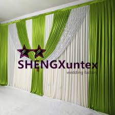 wedding backdrop fabric 2017 new design wedding backdrop curtain stage background