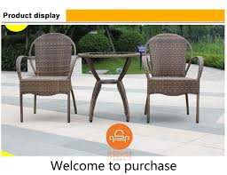 outdoor furniture set garden rattan wicker chair wholesale patio