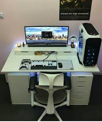 amazing of computer desk setup lovely office furniture plans with