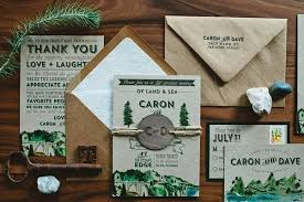 mountain wedding invitations creating wedding invitations 5 details to remember mywedding