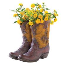 amazon com gifts u0026 decor western theme garden decor cowboy boot