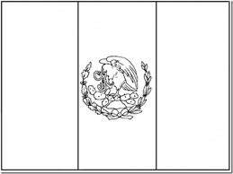 mexican coloring pages new mexican flag coloring page inspiring color 2494 unknown