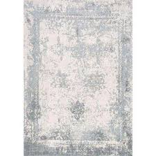 Pink And White Striped Rug Distressed Area Rugs Rugs The Home Depot