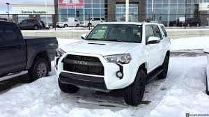 suv toyota 4runner 2017 toyota 4runner trd pro in white youtube