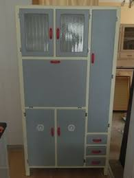 1950s Kitchen Furniture Vintage 40s 50s Hygena Kitchen Cabinet Kitchenette Or Larder Unit