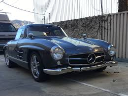 mercedes 300sl replica would you drive a mercedes 300 sl gullwing replica based on an slk