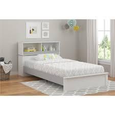 Storage Bed Frame Twin Cosco Leni White U0026 Light Slate Gray Twin Storage Bed 5960321com