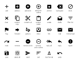 android undo design elements android system icons content