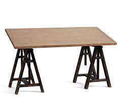 Draft Tables Tilt Top Wood Steel Draft Desk