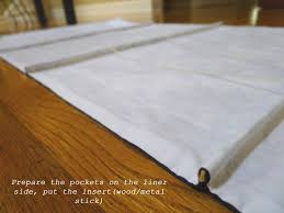 Make Roman Shades From Blinds Blind Sweetsourmoments