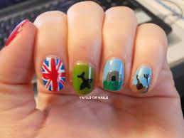 British Flag Nails Yayils Or Nails World War Ii History Nails