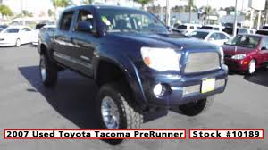 used toyota 2007 used toyota tacoma prerunner lifted for sale in san diego at
