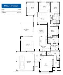 Long Narrow House Floor Plans Single Storey Home Designs Apg Homes Custom Home Floor Plans