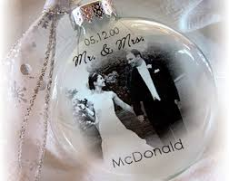 mr mrs wedding custom glass photo