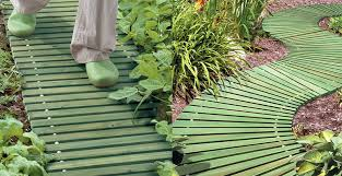 portable roll out wooden walkways the green head