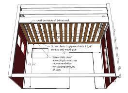 Instructions For Building Bunk Beds by Ana White Fire Truck Loft Bed Diy Projects