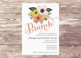 chagne brunch invitations printed brunch invitation brunch invite bridal shower invitation