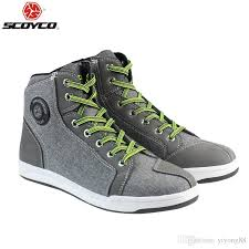 motorcycle boots and shoes 2018 scoyco 016 motorcycle boots men grey casual fashion wear shoes