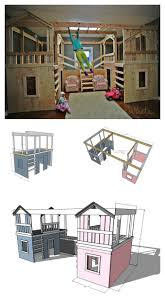 ana white build a diy basement indoor playground with monkey