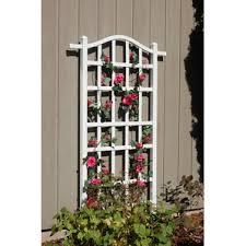 Curved Trellis Fence Panels Trellises You U0027ll Love Wayfair
