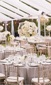 grey wedding table linens hotel val decoro