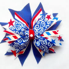 fourth of july hair bows shop spike hair bows on wanelo