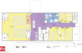 Community Center Floor Plans by New Horizons Expansion Project Breaks Ground