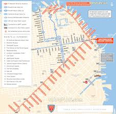 Streetcar New Orleans Map by Maps Update 21051488 Map Of San Francisco Tourist Attractions